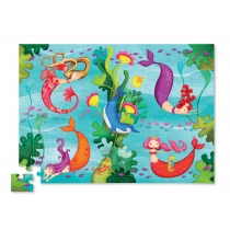 Puzzle Crocodile Creek 72 Piezas Sirenas