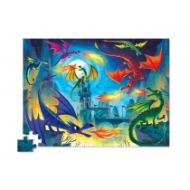 Puzzle Crocodile Creek 72 Piezas Dragones