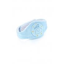 Cinturón Baby Jem Alivio Cólicos con Semillas de Cereza Azul