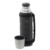 Termo Doble Pared Gris Mate Carter 1200ML