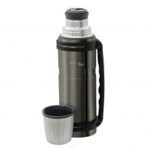 Termo Doble Pared Gris Pulido Carter 1200ML