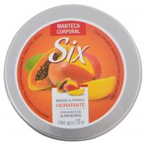 Manteca Corporal Six Mango y Papaya 130Gr