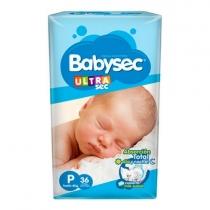 BabySec Ultra P (Hasta 6 Kg) - x36
