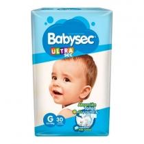 Babysec Ultra G (8.5 a 12 Kg) - x30