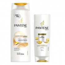 Pantene Liso Extremo Shampoo 400ml más Acondicionador 200ml