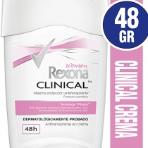 Antitranspirante Rexona Classic Clinical de Mujer 48ml