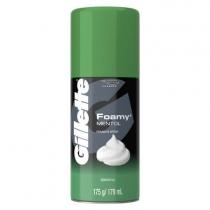 Espuma Gillette Foamy Mentol 175GR