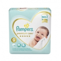 Pampers Premium Care G (9 a 13 Kg) - x30