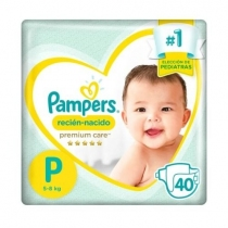 Pampers Premium Care P (5 a 7.5 Kg) - x40