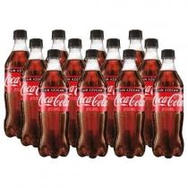 Funda Coca Cola Zero 600cc x12