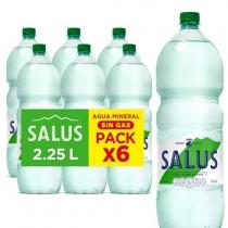 Funda Salus Agua sin Gas 2.25LT x6
