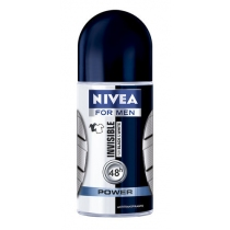 Antitranspirante Nivea Black and White Power Roll On Hombre 50ml