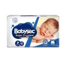 Babysec Super Premium P (Hasta 6 Kg) - x40