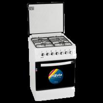 Cocina Enxuta CENX9504W 4 Hornallas Blanca