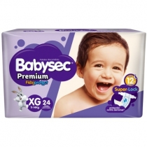 Babysec Premium XG (11 a 14 Kg) - x24