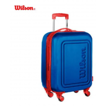Valija Wilson Rodas Carry On de Fibra Azul Francia