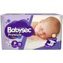 Babysec Premium P (Hasta 6 Kg) - x36