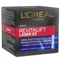 Loréal Revitalif Láser Noche x3 50ml
