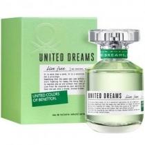 Perfume Benetton Live Free para Mujer 80ml