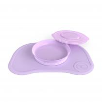 Plancha Click Mat + Plato Twistshake +6m Violeta