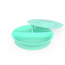 Plato Twistshake Dividido +6m Verde