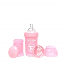 Botella Twistshake Anti-Colic 180 ml Rosa