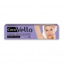 Crema Depilatoria Cerovello Rostro y Axilas 40 Gr