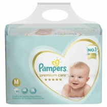 Pampers Premium Care Bag M (6 a 10 Kg) - x80