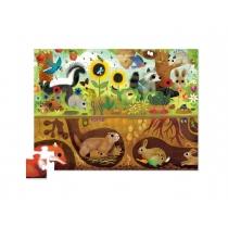 Puzzle Crocodile Creek 48 Piezas Arriba/Abajo Animales