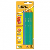 Lapiz Bic Evolution 5u más Lapiz Evolution Pijama