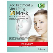 Máscara Facial Purederm Age Treatment 3D