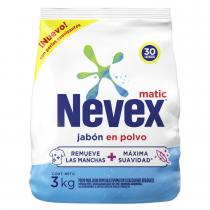 Jabón en Polvo Nevex Matic Multiacción 3kg