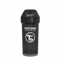 Vaso Twistshake Kid 360 ml +12m Negro
