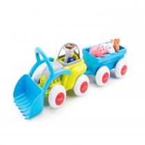 Viking Toys Tractor Midi con Remolque y Animales