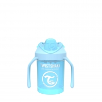 Vaso Twistshake 230 ml +4m Celeste