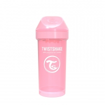 Vaso Twistshake Kid 360 ml +12m Rosa