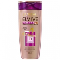 Shampoo Elvive Kera-Liso 230° 200ML