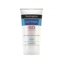 Protector Solar Neutrógena Sun Fresh FPS50 120 ML