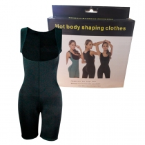Traje Reductor Active Training Talle L Negro