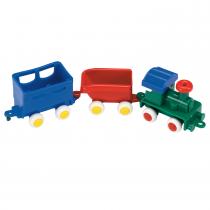 Juego de Tren Viking Toys Mini Chubbies
