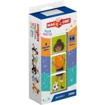 Geomag Magicube Deportes 3 Piezas