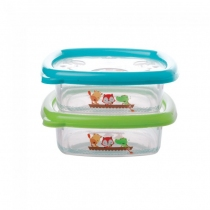 Recipiente Hermético Fisher Price 480ml 2u