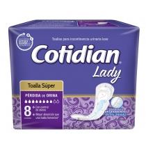 Toalla Femenina Cotidian Lady Super x8