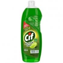Detergente Cif Active Gel Limón Verde 500ml