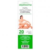 Papel Depilissima Depilatorio x20