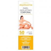 Papel Depilissima Depilatorio x50