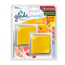 Pack Glade Sensations Repuesto Twin 8GR