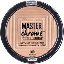 Polvo Maybelline Master Chrome Molten Gold
