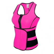 Chaleco Reductor Neopreno Active Trainning Rosado M
