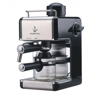 Cafetera Eléctrica Express Punktal PK-C103 2 - 4 Tazas Negra